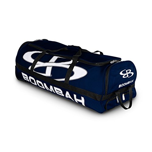 Boombah Brute Rolling Baseball/Softball Bat Bag - 35