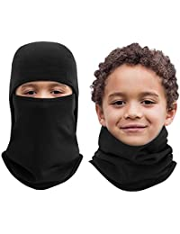 Kids Balaclava Windproof Ski Face Mask for Cold Weather, 1 Piece, 4 Colors