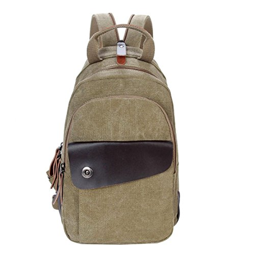 Multi Messenger Business Package Leisure functional Laidaye Canvas Bag Chest 1 Small Backpack Shoulder XHOqnEnpw