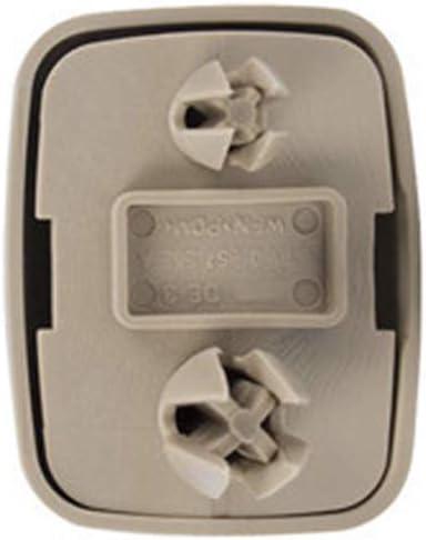 KKmoon Soporte de Gancho con Clip para Visera Interior reemplazo para A-udi A1 A3 A4 A5 Q3 Q5 8E0 857 562 A7 B6 B7 B8 S4 S5