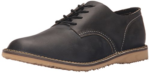 Red Wing Heritage Men's Weekender Oxford, Charcoal Rough/Tough, 9.5 D US