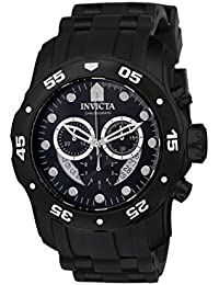 Men's 6986 Pro Diver Collection Chronograph Black Watch