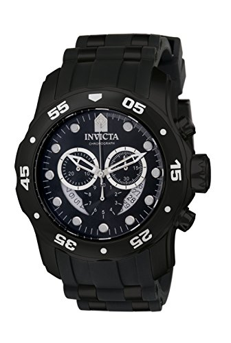- Invicta Men's 6986 Pro Diver Collection Chronograph Black Watch