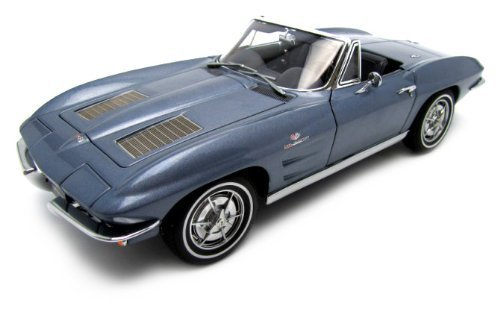 Chevrolet Corvette 1963 Convertible, sebring silber, Limited Edition 6.000 St by ()