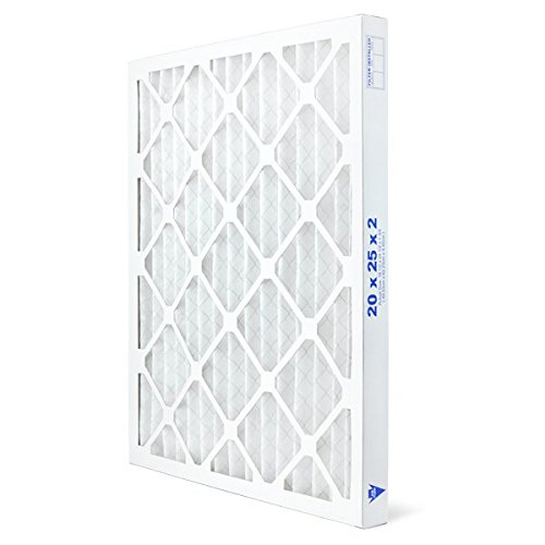AIRx Filters Allergy 20x25x2 Air Filter MERV 11 AC Furnace Pleated Air Filter Replacement Box of 6, Made in the USA