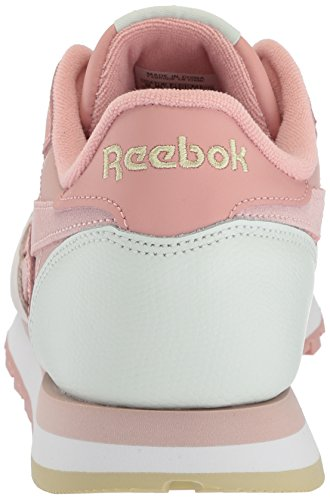 Shell Reebok Pm Chalk Sulfur Pale Pnk Lthr White Cl Pnk Walking Women's Opal Shoe Pink 8rxfwq8Bt