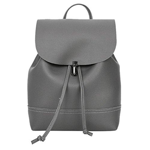InKach Womens Backpack Mini Purse Vintage Leather School Rucksack Travel Satchel Bags
