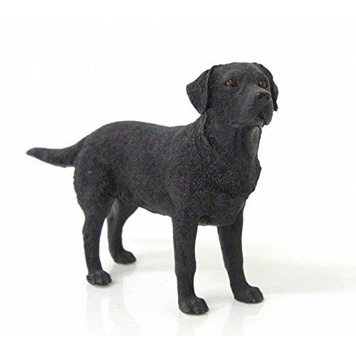 Gainsborough Gifts Black Labrador Dog Figurine (4.5 Inch) (Black)