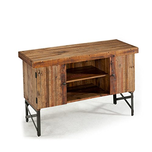 Emerald Home Chandler Rustic Wood Sofa Table with