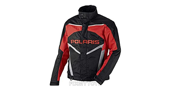 OEM Polaris Mens Snowmobile Red Throttle Jacket Insulated Size S-3XL