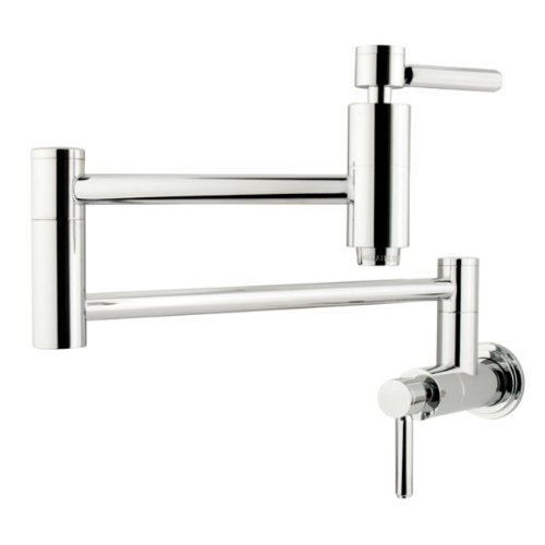 Kingston Brass KS8101DL Concord Pot Filler, Polished Chrome, 13