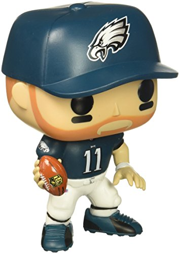 Price comparison product image Funko Pop NFL: Carson Wentz (Eagles Home) Collectible Figure