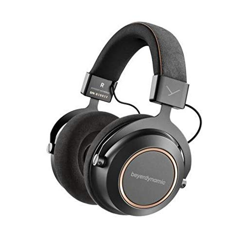 beyerdynamic Amiron Wireless Copper Hi-Res Bluetooth Headphones with Touchpad, 30 Hour Battery, aptX HD, AAC, aptX Ll (Limited Edition, Made in Germany) (Beyerdynamic Headphones Bluetooth)