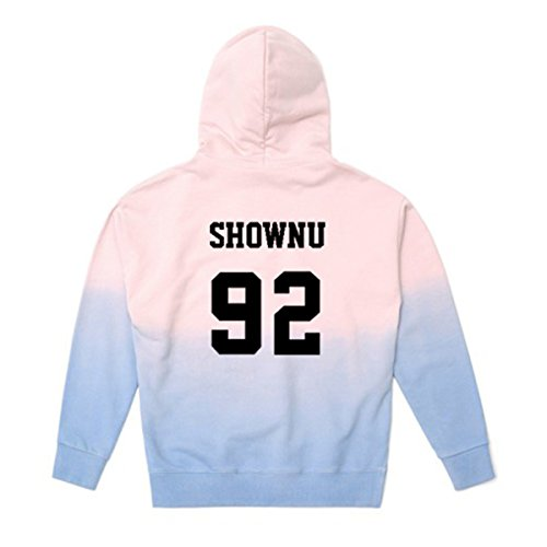 MONSTA X Concert Pullover Hoodie I.M Minhyuk Won Ho Gradient Sweater