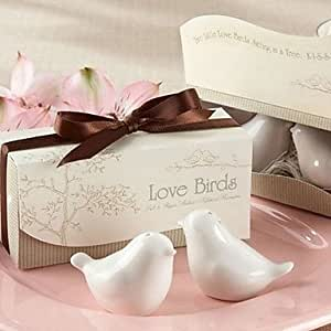 Tint Love Birds in the Window Salt and Pepper Shakers