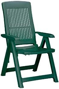 Best 18200330 silla de jardín - sillas de jardín (Dining, Grid, Asiento duro) Verde