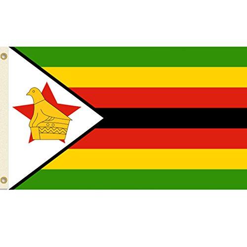(Vista Flags Zimbabwe 3x5 Polyester Flag)