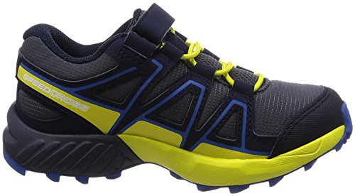 Bungee Zapatillas sulphur Niños Trail Speedcross ombre Spring Running Azul Salomon Blue nautical Unisex De K 000 pn5CwF