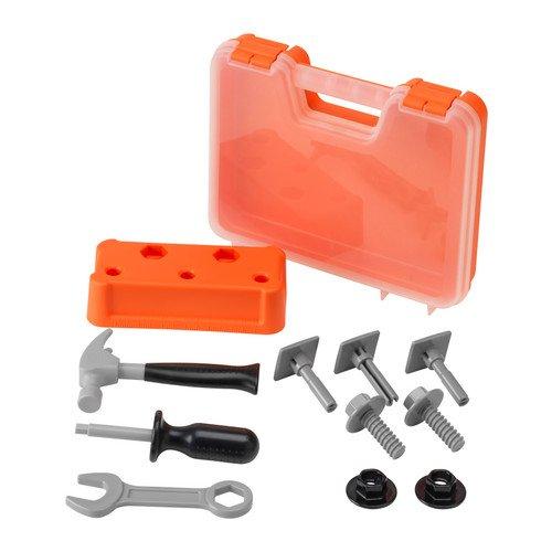 Metal Stanley Bed (Ikea DUKTIG Tool box)