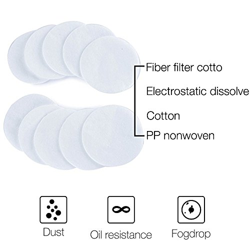 Holulo ST-M80-3 Filter Cotton For Respirator and Filter Cartridge (Filter cotton 10 pcs)