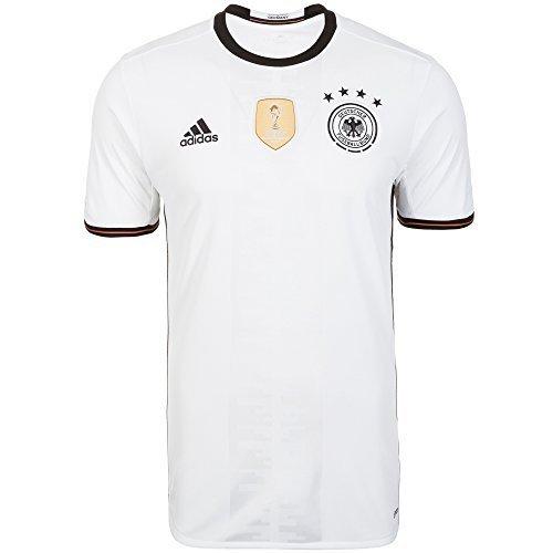 adidas DFB Trikot Home/Away EM Frankreich 2016 weiß - Home, L - 54