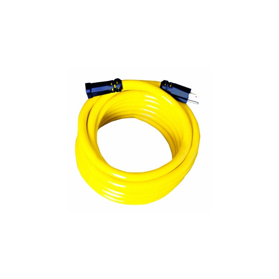 Voltec 06 00163 12/3 STW Heavy Duty Extension Cord, 100 Foot, Yellow