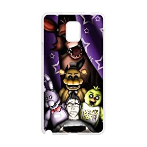 Samsung Galaxy S4 Phone Case White Five nights at Freddy's NLG7811701