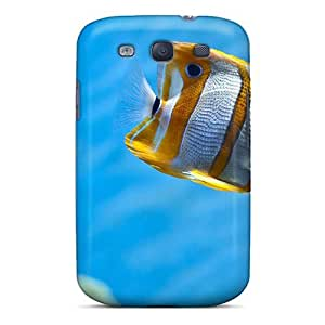 Case Cover Stripes Of Gold/ Fashionable Case For Galaxy S3