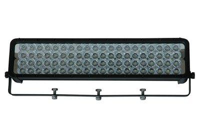 Infrared LED Light w/Trunnion U-Bracket - 80, 3-Watt IR LEDs - 1750'L X 300'W Spot Beam - 9-42VDC(-White-Spot-940nm)