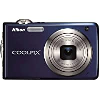 Nikon Coolpix S630 12MP Digital Camera with 7x Optical Vibration Reduction (VR) Zoom and 2.7 inch LCD (Midnight Blue) Review Review Image