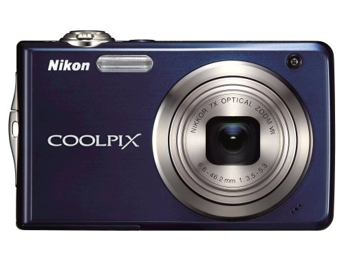 (Nikon Coolpix S630 12MP Digital Camera with 7x Optical Vibration Reduction (VR) Zoom and 2.7 inch LCD (Midnight Blue))