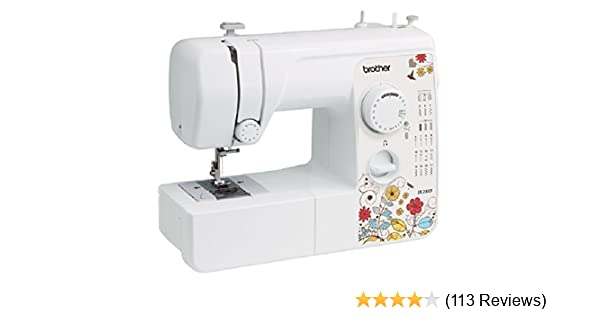 Amazon Brother Jx40 Lightweight And Full Size Sewing Machine Mesmerizing Sewing Machine Jams After Few Stitches