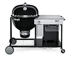 Experience the evolution of the iconic Kettle where charcoal grilling meets low &-slow smoking. With a push of a button, coals are lit & the smell of barbecue will soon embrace the neighborhood. Whether smoking, grilling, or even baki...