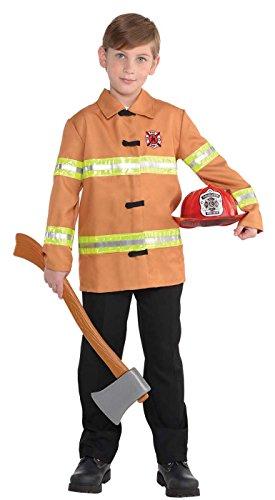 Amscan Firefighter Jacket - Child Standard -