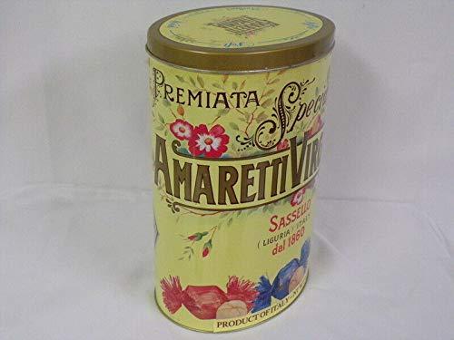 (2000 Amaretti Virginia ORIGINAL Vintage Italian Cookie Container)
