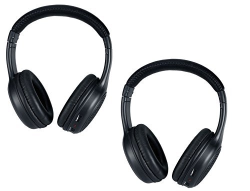 Dodge Durango Two Channel IR Headphones 2006 2007 2008 2009 2010 2011 2012 2013 2014 2015 2016 2017
