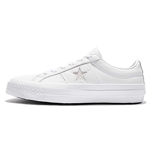 f5f5ea10466306 Converse Unisex Mens One Star Premium Leather Low Ox Fashion Sneaker Shoe  85%OFF