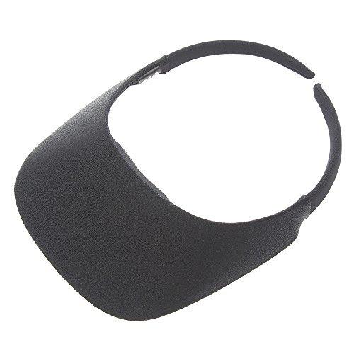 The ''Original'' No Headache Womens Sun Visor Hat (shimmer Black)