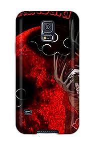 Galaxy S5 Hard Back With Bumper Silicone Gel Tpu Case Cover Akatsuki