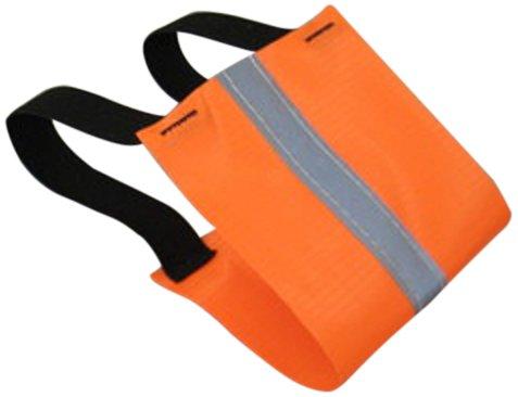 Safety Flag ABR-4 Fluorescent Reflective Armbands, Orange