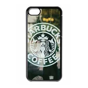 Hjqi - Personalized Starbucks Cover Case, Starbucks Custom Case for iPhone 5C