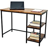 Carolina Chair and Table William Desk, Chestnut/Black