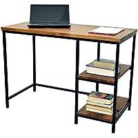 Carolina Chair and Table William Desk, Chestnut/Black