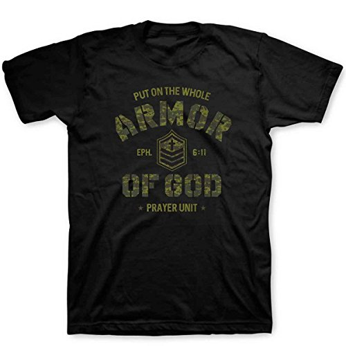 Armor Of God Camo, Tee, SM, Black - Christian Fashion Gifts ()