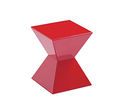 Pleasant Sunpan Modern Urban Unity End Tables Red Ibusinesslaw Wood Chair Design Ideas Ibusinesslaworg