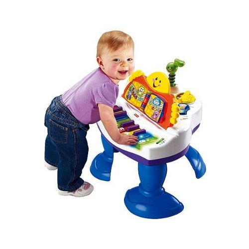 Fisher-Price - Piano Aprendizaje (mayores de 9 meses) (Mattel)