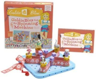 Goldie Blox and The Spinning Machine, belt, today, set, toy ...
