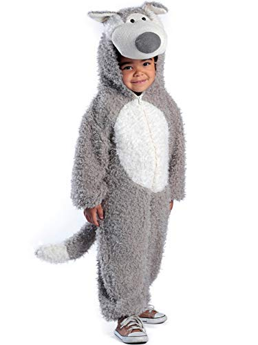 (Princess Paradise Child's Big Bad Wolf Deluxe Costume, As Shown,)