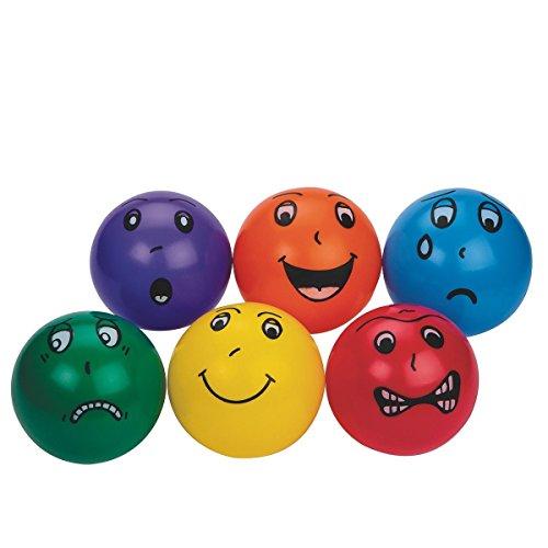 S&S Worldwide Smedley Vinyl Balls (set of 6)