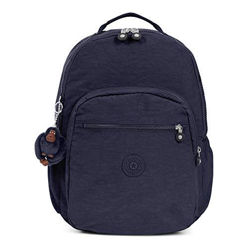 (Kipling Seoul Go Extra Large Laptop Backpack True Blue Tonal)